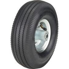Ironton 10in Pneumatic Wheel And Tire 300 Lb Capacity Sawtooth Tread
