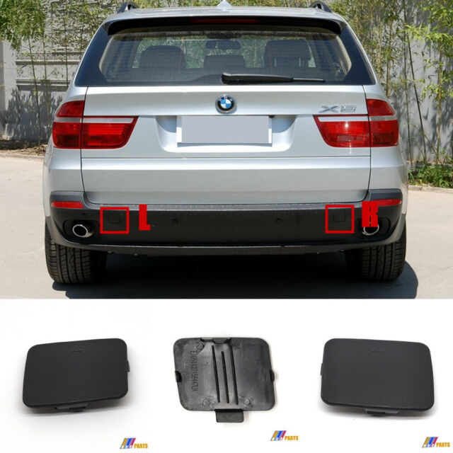 Driver Hand Rear Bumper Tow Hook Cover Cap for BMW X5 E70