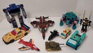 Vintage 1980's Transformers G1 Figure lot! *Read Description*