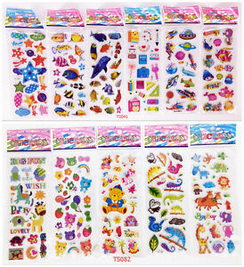 11-Sheets-Children-039-S-Cartoon-Anime-Stickers-Animals-Value-Kids-Child-Toys-Gift
