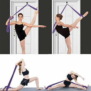 Adjustable Leg Stretcher Lengthen Yoga Ballet Stretch Band  Install on Door