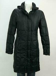 The-North-Face-Women-039-s-Full-Zip-550-Down-Parka-Hooded-Coat-Jacket-Black-S