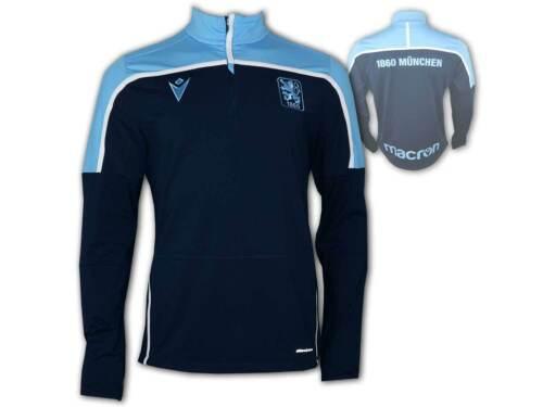 3XL Macron 1860 München Training 1//4 Zip Top blau 1860 Shirt Sweatshirt Gr.S