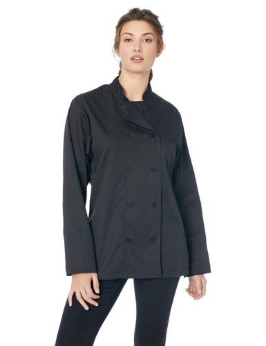 CWLJ NEW Chef Works Women/'s Marbella Chef Coat FREE2DAYSHIP TAXFREE