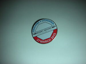 Bobby-Moore-Club-England-v-Lithuania-27th-March-2015-Pin-Badge