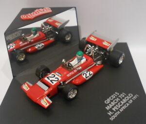 Quartzo SCALA 1/43 - QFC015 701 H. Pescarolo SUD AFRICA GP 1971