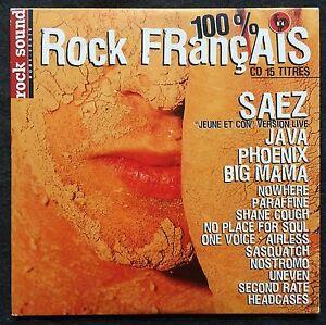 Compilation-CD-100-Rock-Francais-N-4-Promo-France-EX-M