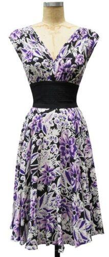 Trashy Diva 4 Purple Floral Alison Dress XS S