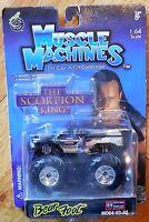 Muscle Machines Mummy Bear Foot Monster Truck Mo64-03-02 Mosc 1:64