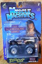MUSCLE MACHINES MUMMY Bear Foot Monster Truck MO64-03-02 Mosc New 1:64