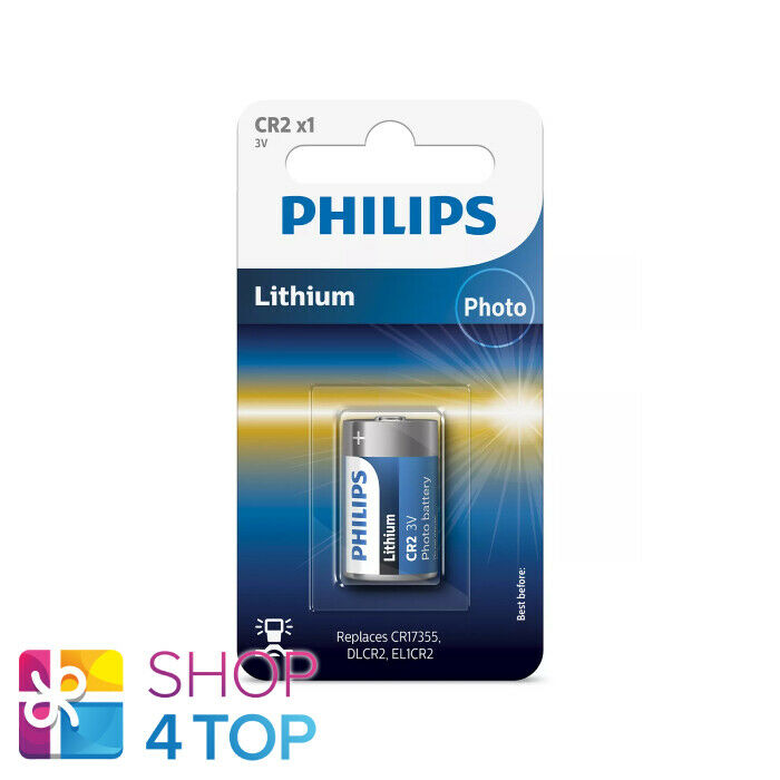 Philips lithium cr2 battery 3v cr15270 DLCR 2 el1cr2 1bl batteries Exp 2023 new