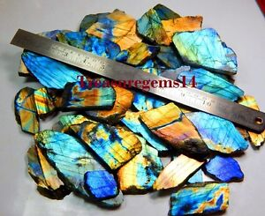 1260Crt-NATURAL-MULTI-FIRE-LABRADORITE-SPECTROLITE-ROCK-ROUGH-TILE-SLAB-GEMSTONE