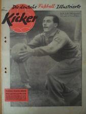 + KICKER 49 - 8.12. 1958 Maxl Morlock Düsseldorf-Schalke 5:4 Herne-Gladbach 5:0