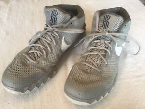 b094c14ea7e Nike Kyrie 1 Pure Platinum All Star Wolf Grey 705277 010 Sz 14