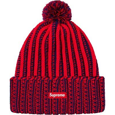 Supreme NWT Beanie Red In Hand FW16