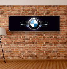 Bmw Logo Vinyl Banner Sign Garage Shop Adversting Flag Poster Auto Motorsport