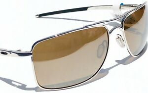 889ade6cacc NEW  Oakley GAUGE 8 CHROME 57mm Aviator w POLARIZED Tungsten ...