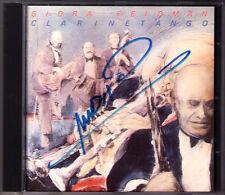 Giora FEIDMAN Signiert CLARINETANGO La Cumparsita Piazzolla Gardel Ramirez CD