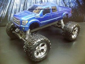 Custom-Painted-Body-Ford-F-250-2011-For-1-10-RC-Monster-Truck-Traxxas-Stampede