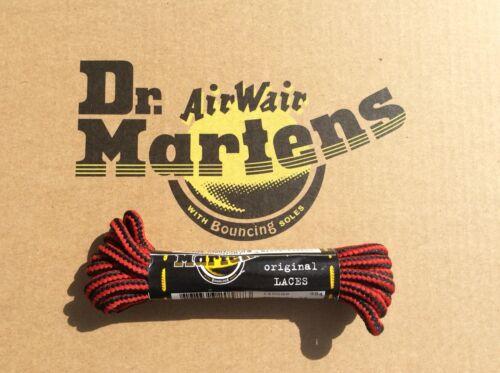 Dr Martens Original 1460 8 Hole Red /& Black Boot Laces.