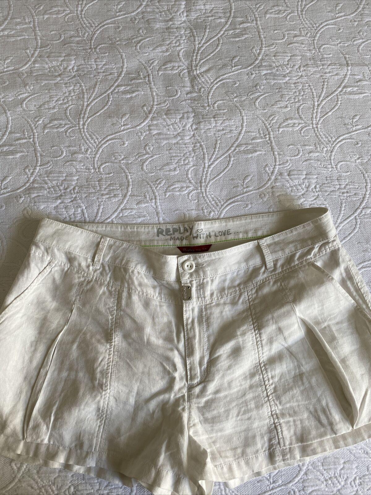 Damen Shorts Gr.40 Replay/Leine