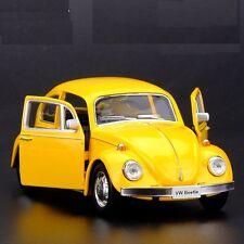 Kinsmart 1967 Volkswagen Classical Beetle Diecast Metal Car - Yellow