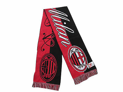 Sciarpa Milan Classica Originale Milano Jaquard AC Milan Stadio Sped.GRATIS