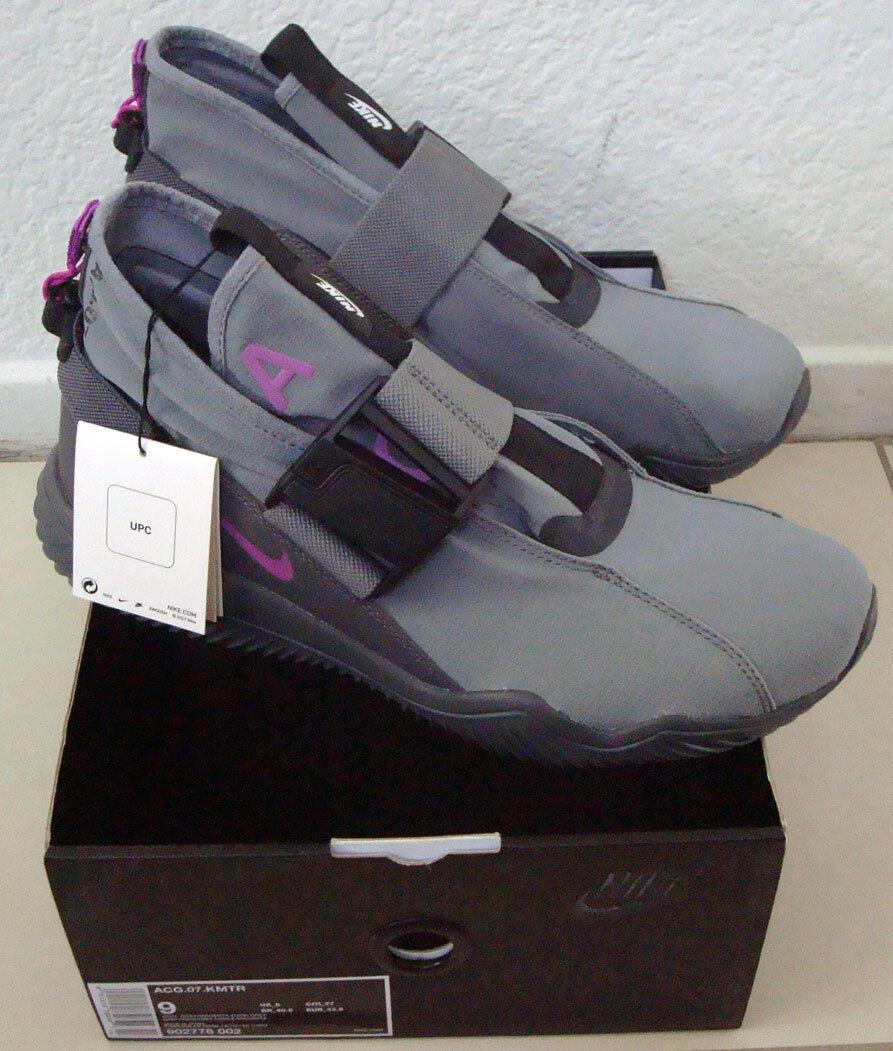 DS Nike ACG 07 KMTR KOMYUTER Cool Grey-Magenta 902776-002 size 9