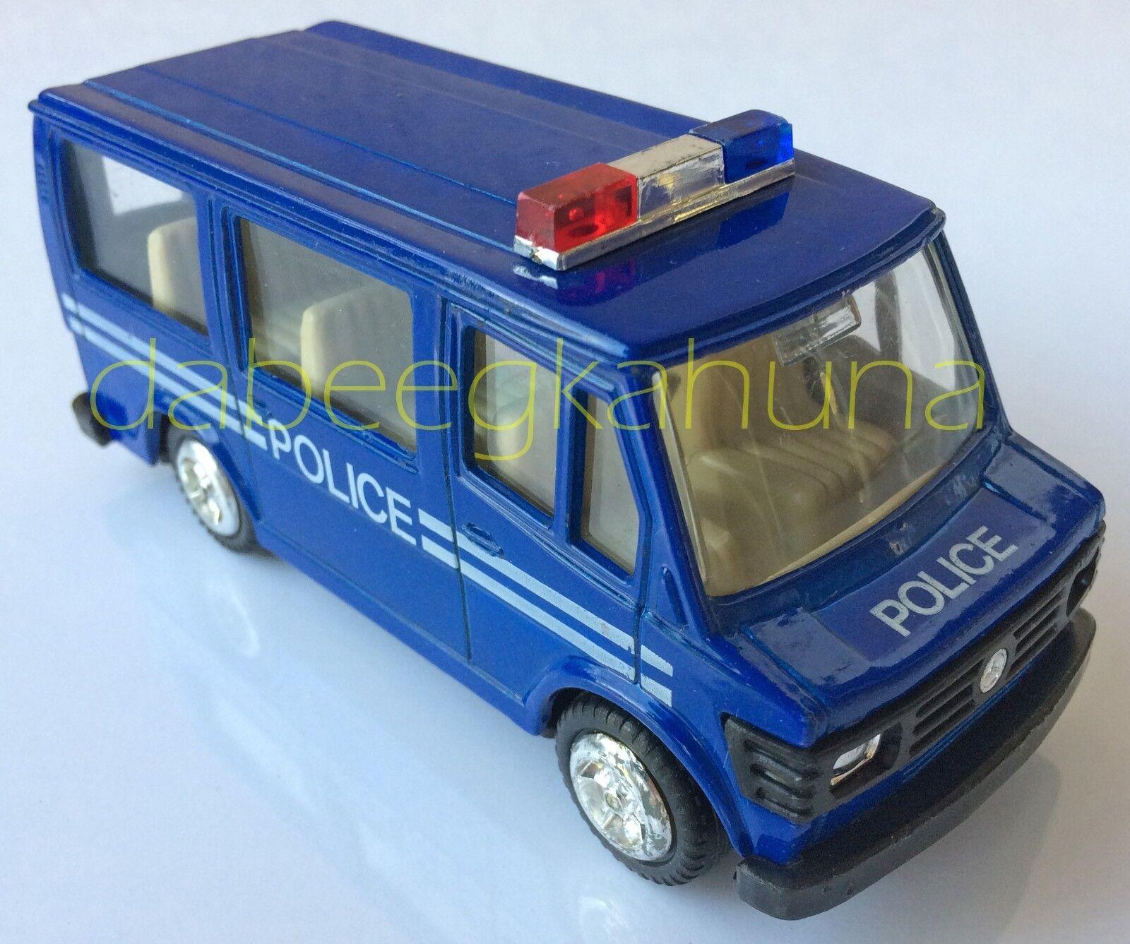 Mercedes Benz - Police Van Van Van - Rubber Tires - Die-Cast - 5   L - TT - No. 828 a182b9