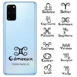 Coque Galaxy Note 10 LITE signe astrologique personnalisee