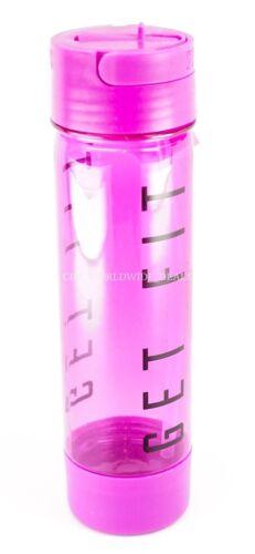 "Victoria/'s Secret PINK /""GET FIT/"" Purple Campus Water Bottle 24oz"