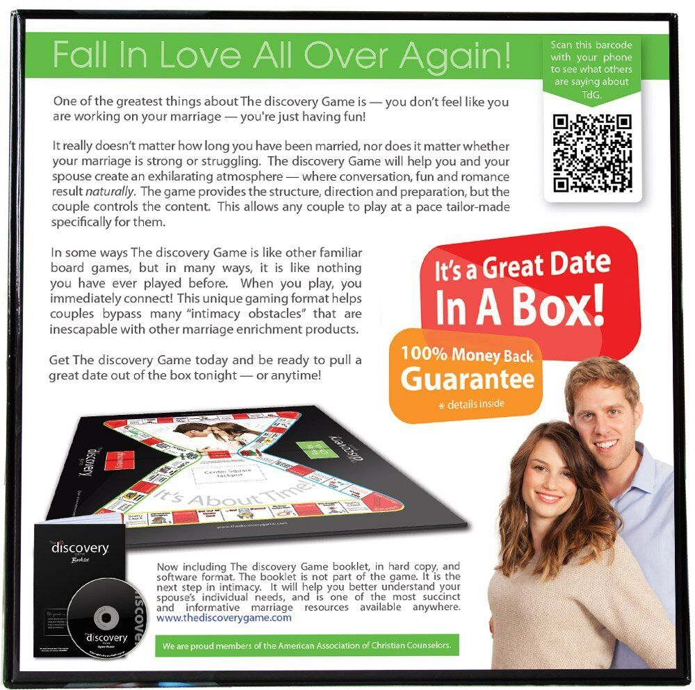 The Discovery Game For A Married Couple Board - Board Couple Game A Great Date In A Box New b0b2fb