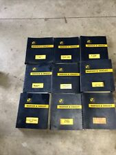 Warner And Swasey Gradall Crane Excavator Operating And Service Manuals Lot