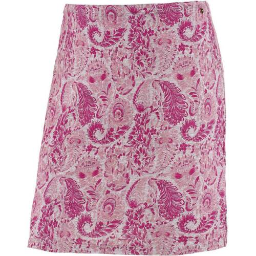 NEU!! KP 29,95 € SALE/%/%/% S Gr Maui Wowie Minirock rosa gemustert