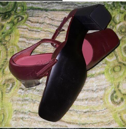 caviglia Nina Dimensione cinturino pelle Elements 7 in Maroon cinturini 5 con alla By Oq55pFz