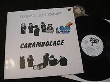 LP Ekkehard Jost Quintet Carambolage Germany 1984 | M-