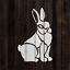 Rabbit-Stencil-Durable-amp-Reusable-Mylar-Stencils thumbnail 4