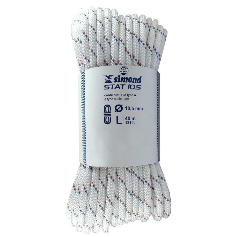 SIMOND Static Rope 10.5 mm x 40 m