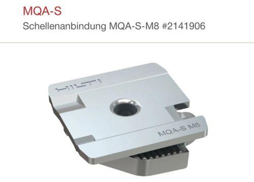 50x Stück Hilti MQA-SSchellenanbindung MQA-S-M8 #2141906
