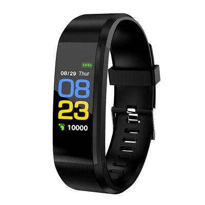 Sports Fitness Activity Tracker Smart Watch Bracelet Pedometer +Replace Band New