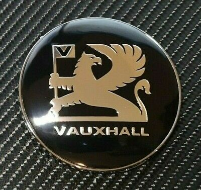 """Astra Late Mk2 Mk3 Calibra Cavalier  76mm Reproduction /""""Griffin/""""  Vauxhall Badge"""