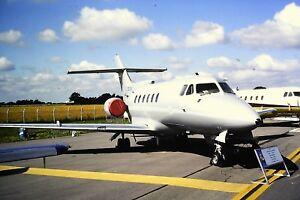 2-75-2-British-Aerospace-BAe-125-Royal-Air-Force-ZE395-Kodachrome-SLIDE