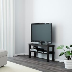 ab0aba08839e Image is loading Wooden-TV-Bench-Black-White-Table-Entertainment-Unit-