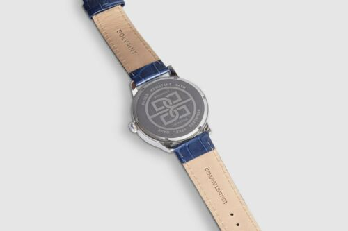 The Bolvaint Mallory Blanc in Ash Silver Men's Watch Brand NEW & Slaled