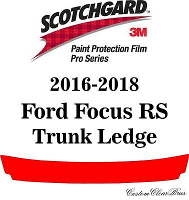 Ford Focus RS 2016-2018 PreCut 3M PRO Series Paint Protection Film Clear Bra PPF
