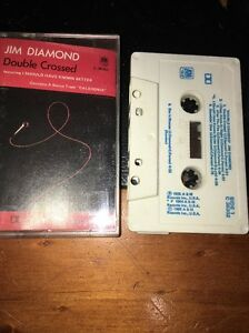 JIM-DIAMOND-DOUBLE-CROSSED-Cassette-Tape