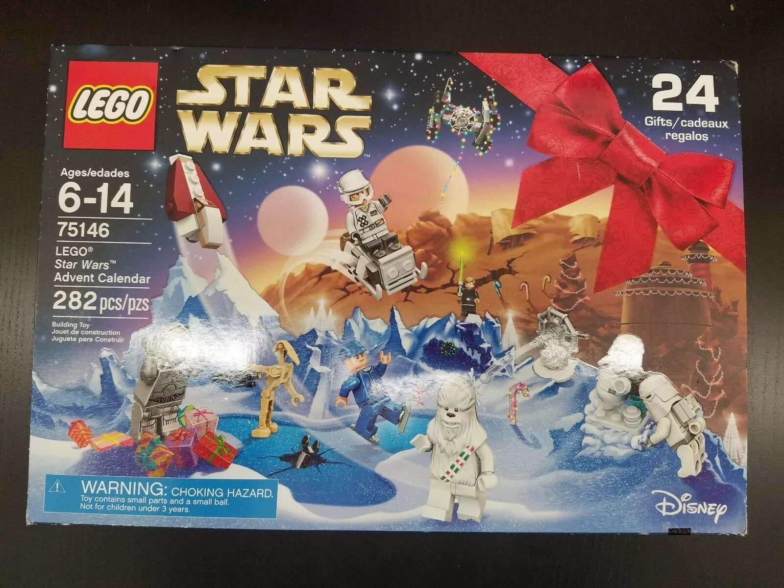 LEGO 75146 75146 75146 Star Wars Advent Calendar Building Kit (282 Piece) (2016) new rare bc51cd