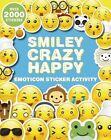 Smiley Crazy Happy Emoticon Sticker Activity by Parragon Books Ltd (Paperback / softback, 2016)