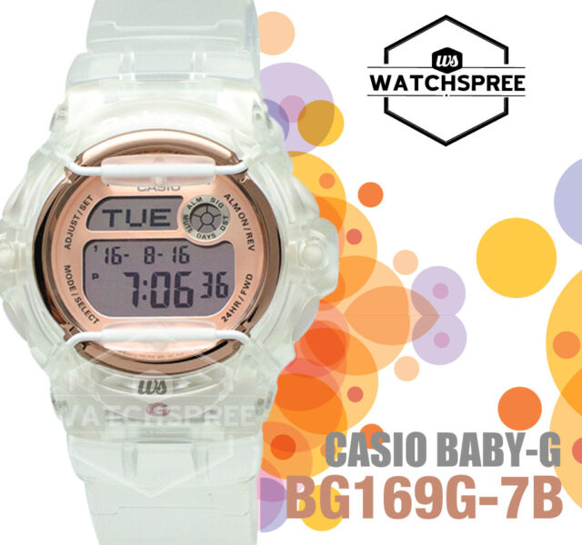 Casio Baby-G New BG-169 Series Watch BG169G-7B AU FAST & FREE