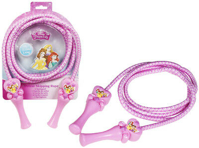 Girls Jump Skipping Exercise Rope Princess Deluxe Jump Rope Kids Activity 3+